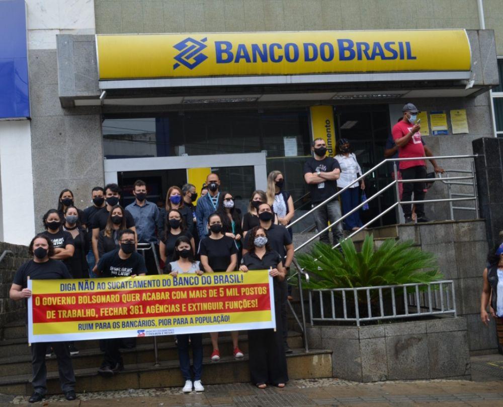 Resultado de imagem para paralisacao banco do brasil vitoria da conquista